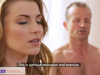 Fitnessrooms Dirty Yoga Teacher On Geous Fitness Model...
