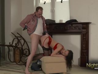 In pussy und anal gefickt...
