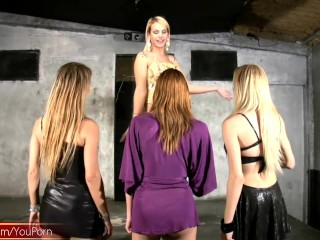 Four Trannies Dance And Fuck In Private...